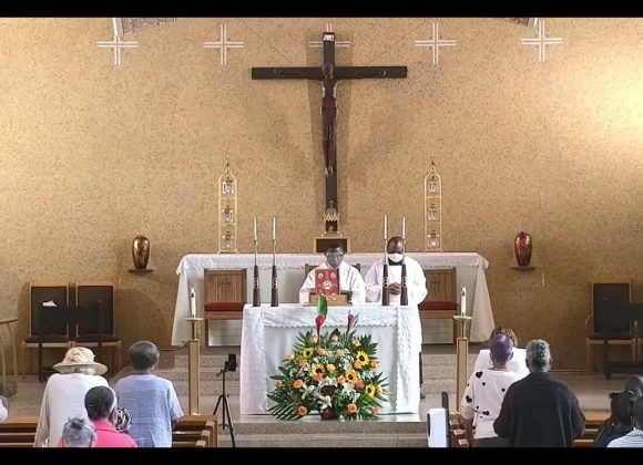 5/30/2021 Solemnity of the Most Holy Trinity English Mass